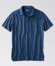Fairfield Indigo Pocket Polo