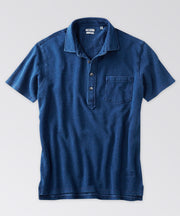Fairfield Indigo Pocketed Polo Shirt