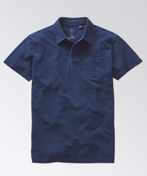 Hobson Indigo Pocket Polo