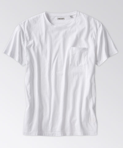 Harborage Garment-Dyed Pocket Tee Shirt