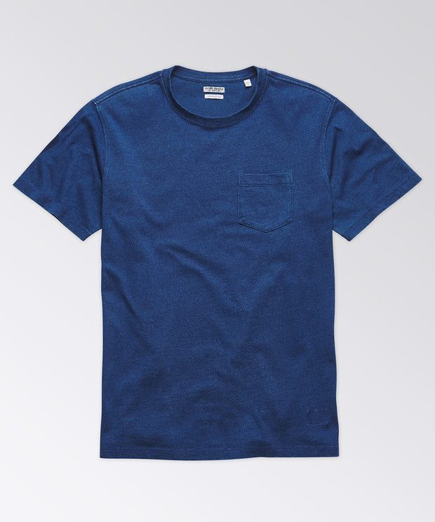 Sullivan Short Sleeve Indigo Pocket Tee Shirt
