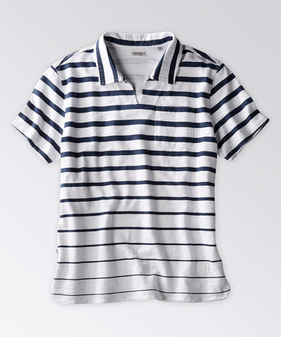 Circuit Stripe Short Sleeve Polo Shirt