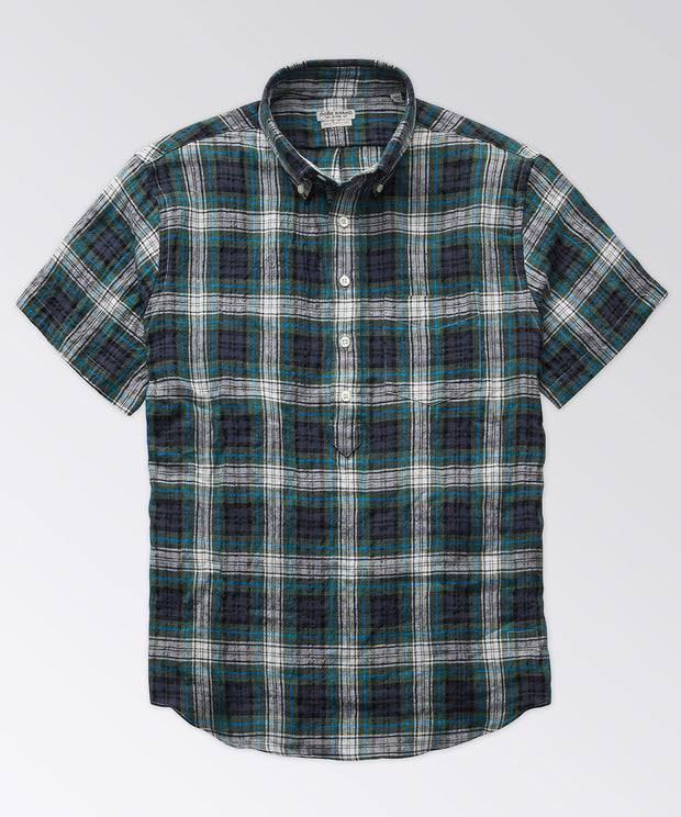 Lange Short Sleeve Popover Shirt