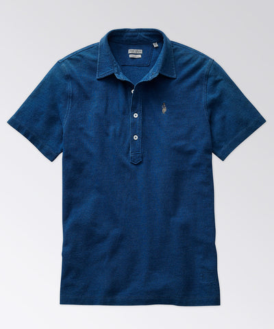 King Street Indigo Polo