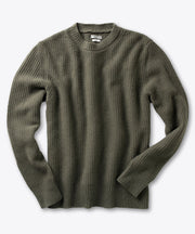Knot Stitch Crewneck Sweater