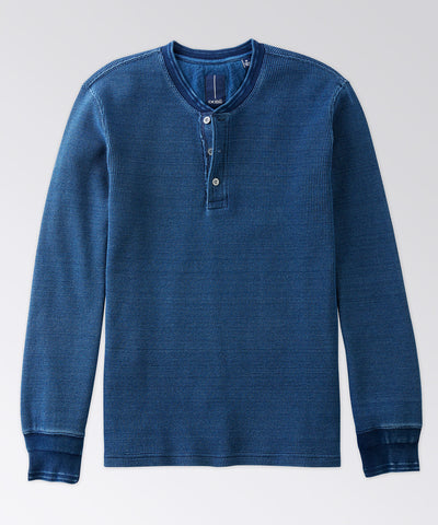 Lakeside Long Sleeve Thermal Henley Shirt
