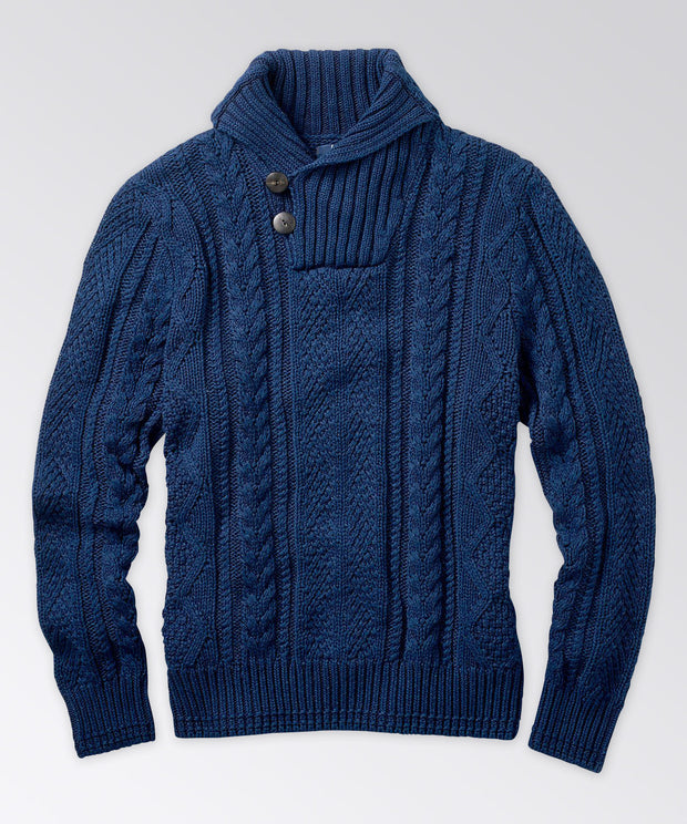 Seaborne Cable-Knit Pullover Sweater