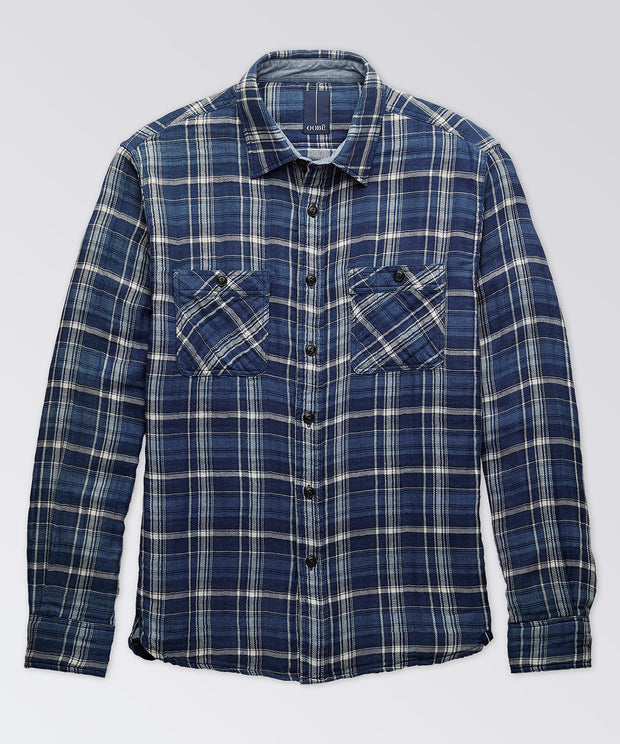Mills Indigo Long Sleeve Workshirt