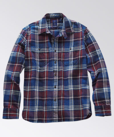 Mills Flannel Long Sleeve Workshirt