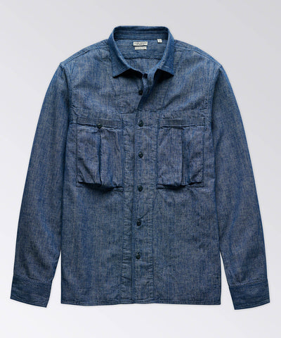 Capitan Chambray Long Sleeve Shirt