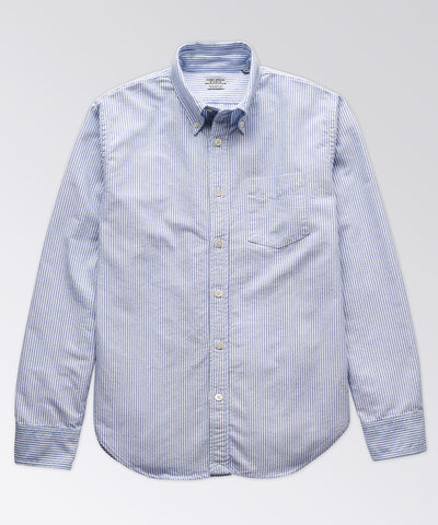 Charles Stripe Oxford Shirt