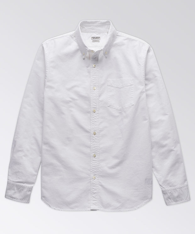 King Street White Oxford Shirt
