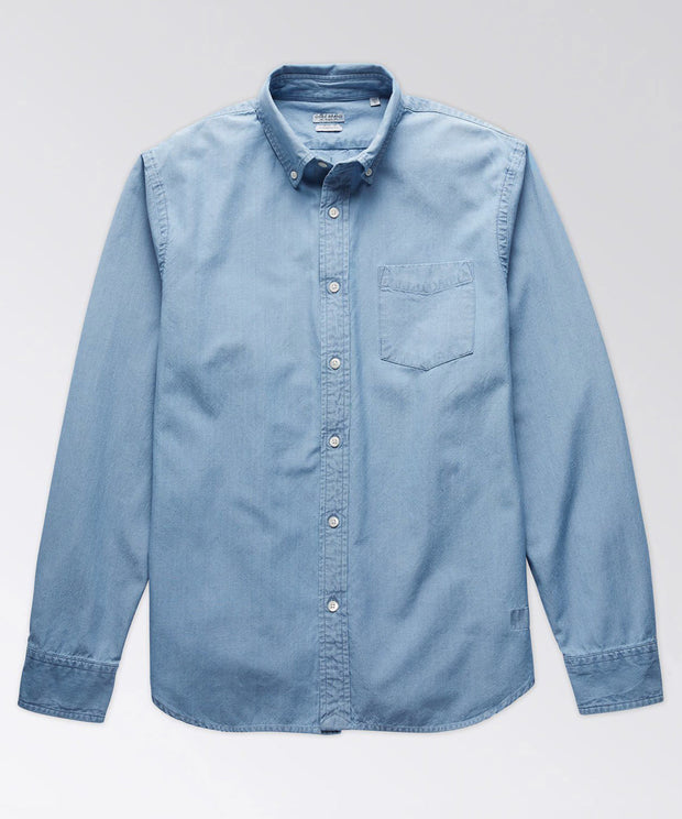 King Street Selvedge Chambray Long Sleeve Shirt