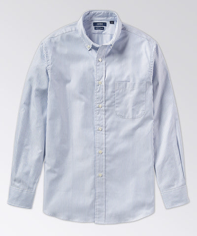 Baldwin Oxford Stripe Long Sleeve Shirt