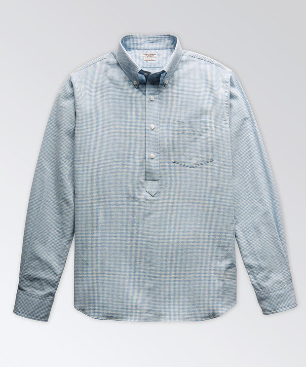 Warren Long Sleeve Popover Shirt