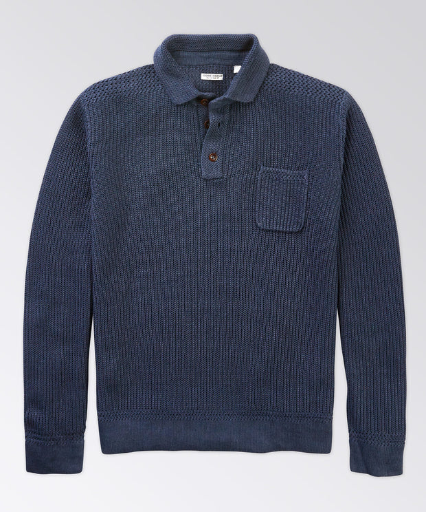 Thompson Polo Sweater
