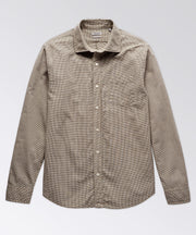 Excella Micro Check Long Sleeve Shirt