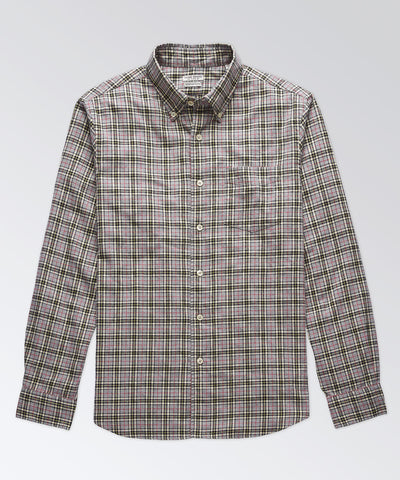 Excella Heather Plaid Shirt