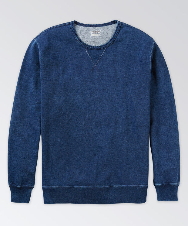 Warren Indigo Sweatshirt