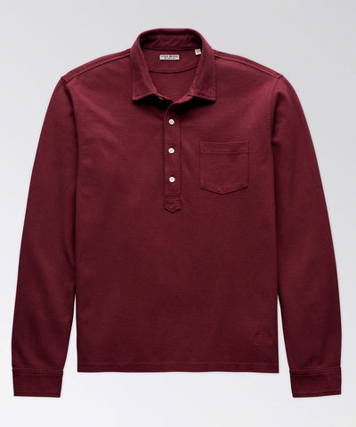 Charleston Long Sleeve Jersey Popover Shirt