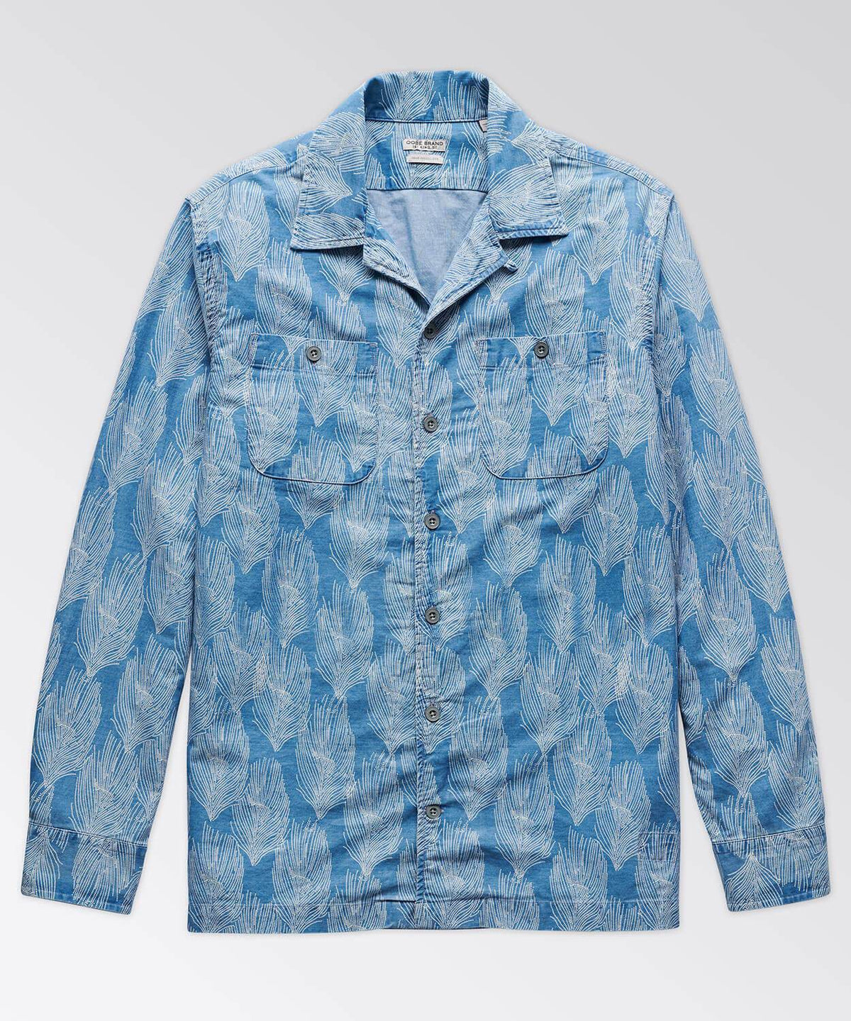 Hobson Indigo Camp Shirt