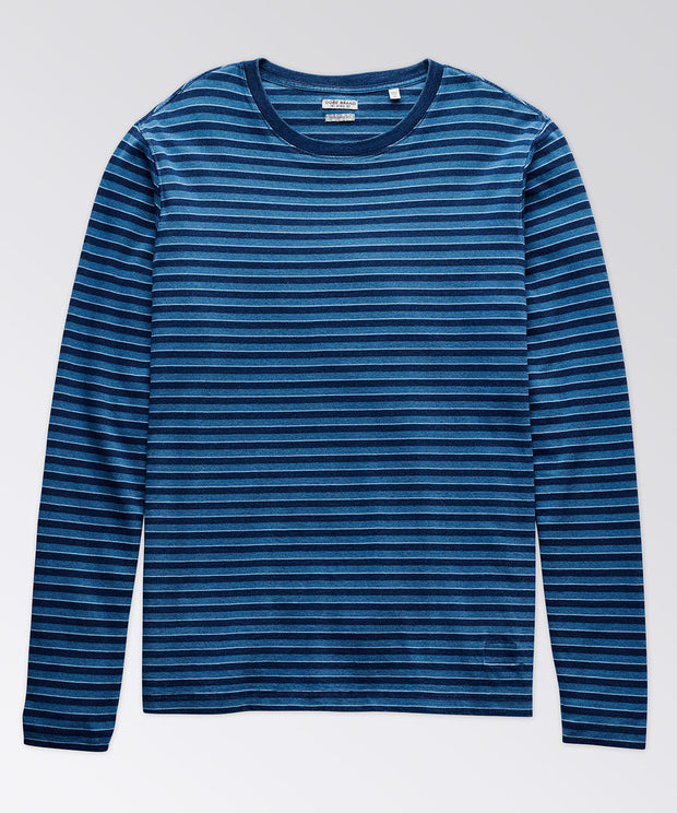 Brewster Indigo Long Sleeve Tee Shirt