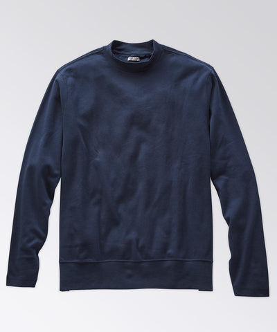 Bretton Mock Neck Knit Shirt