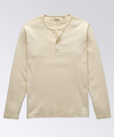 Linguard Long Sleeve Textured Henley Shirt