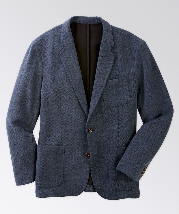 Harper Cotton Knit Blazer