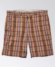 Bristol Plaid Short