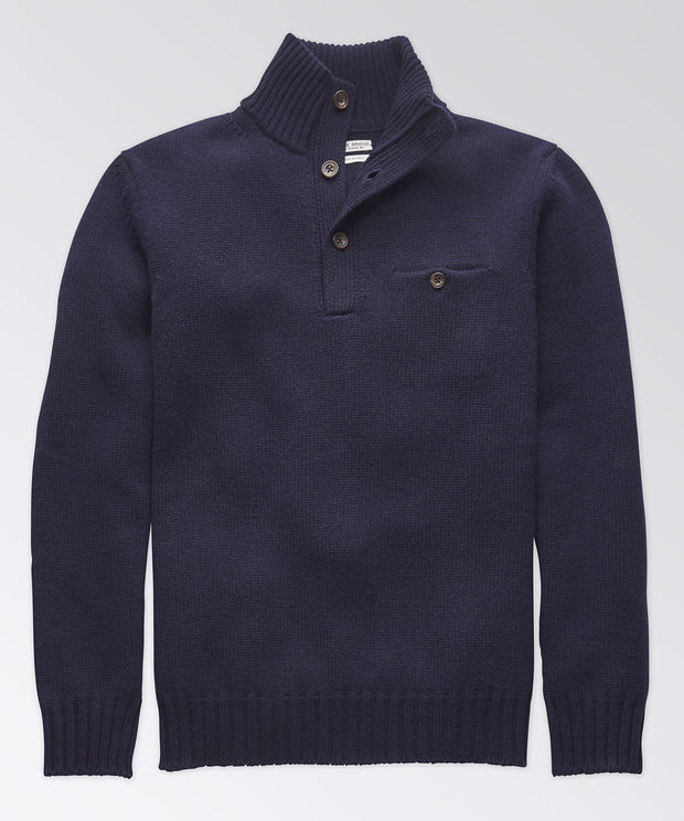 Whitmarsh Button-Placket Pullover
