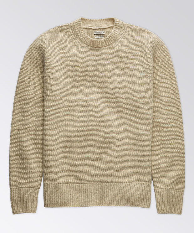 Seed Stitch Crew Sweater