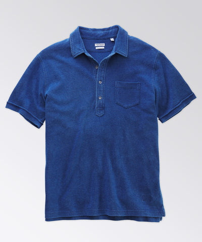Avedon Indigo Pocket Polo
