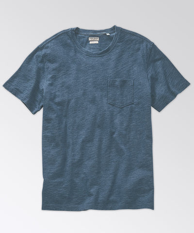 Sutherland Light Indigo Pocket Tee
