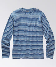 Brewster Light Indigo Stripe Tee