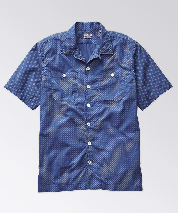 Elcott Madras Shirt - Dusk Blue