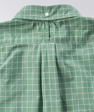 King Street Plaid Oxford Shirt - Sea Green