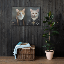 Load image into Gallery viewer, Kitten Pet Canvas Mounted on Wall