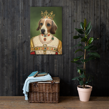 Load image into Gallery viewer, THE QUEEN - CUSTOM PET PORTRAIT (50% OFF)