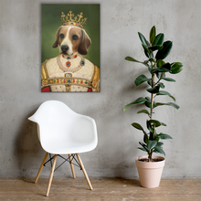 Load image into Gallery viewer, Queen Female Dog Canvas Art