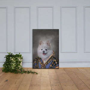Alluring Dog Pet Portrait