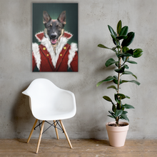 Load image into Gallery viewer, Shepherd Dog Painting Decorated on Wall