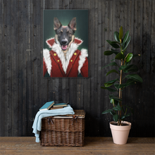 Load image into Gallery viewer, Dog Pet Portrait Placed on Wall