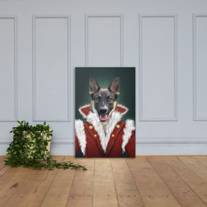 Female Dog Custom Pet Portrait