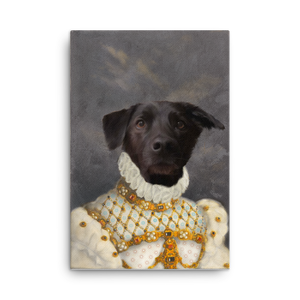 Custom Renaissance Pet Portraits
