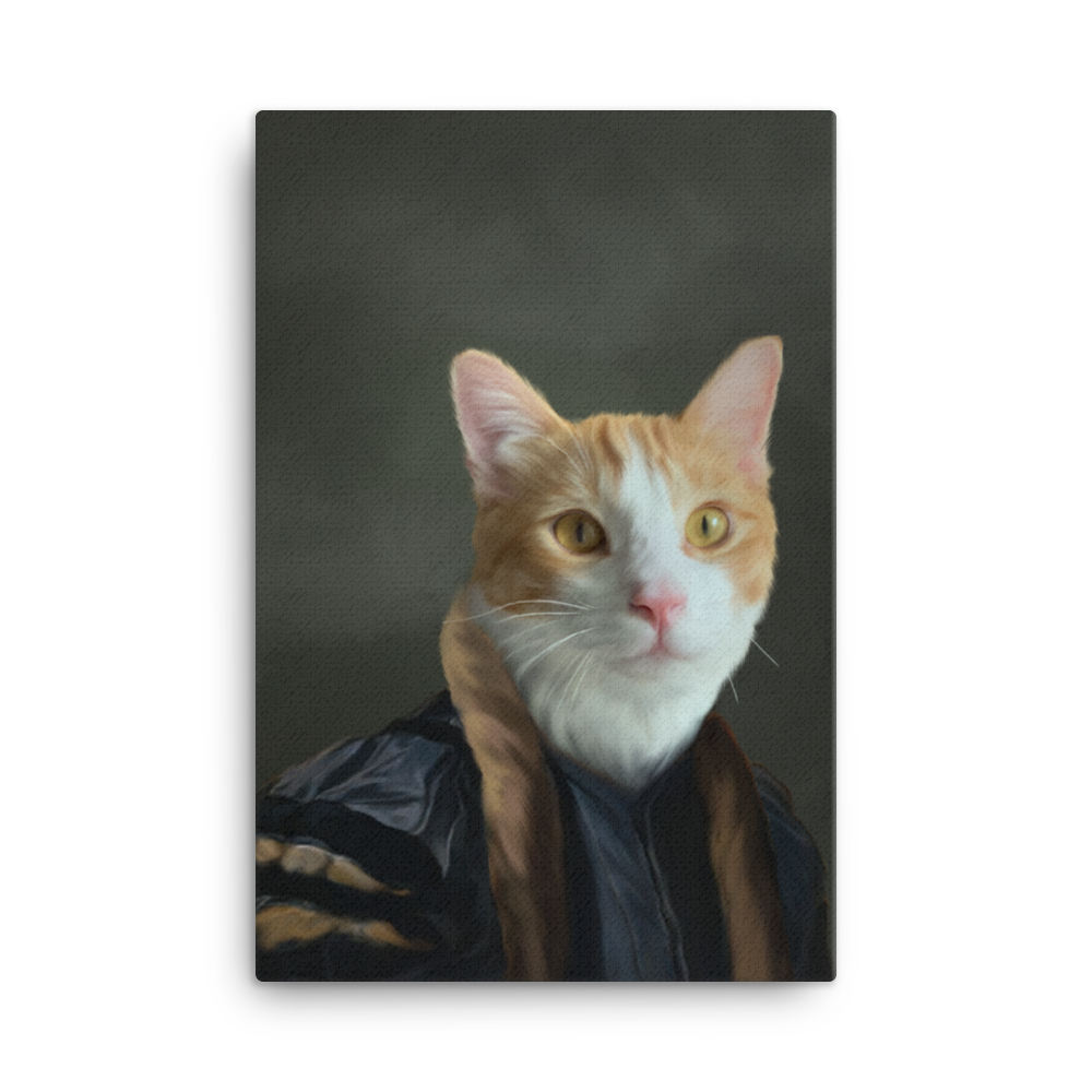 Count Custom Pet Portrait