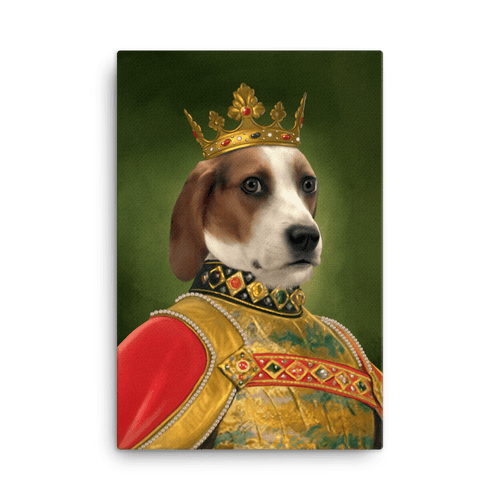 THE KING - CUSTOM PET PORTRAIT (50% OFF)