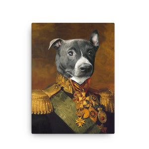 Male Dog Canvas