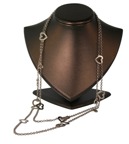 Charriol 100 Ways To Love Steel Necklace
