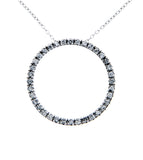 1/3 carat Diamond Circle Necklace